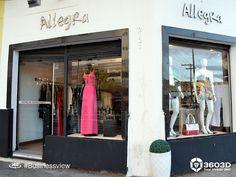 A Allegra Modas agora pode ser visitada virtualmente através do Business View, o tour virtual do Google, feito pela 3603D. #streetviewtrusted #businessview #googlebusinessview #3603D