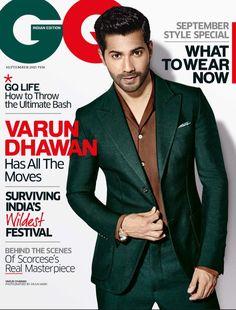 Varun Dhawan #GQIndia  #Photoshoot #Bollywood #Hot #Fashion #Style #VarunDhawan