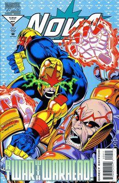 Nova (1994 2nd Series) 9 Marvel Comics Modern Age Comic book covers Super Heroes Villians