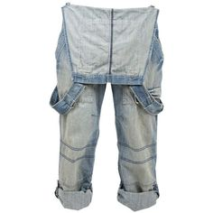 Crafted Dungarees (205 BRL) ❤ liked on Polyvore featuring pants, bottoms, jeans, overalls and mens jeans