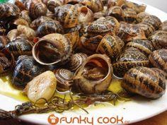 Συνταγή Χοχλιοί Μπουμπουριστοί – Σαλιγκάρια με Μυρωδικά - Συνταγές μαγειρικής , συνταγές με γλυκά και εύκολες συνταγές από το Funky Cook Greek, Food And Drink, Greece