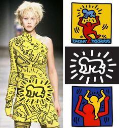 de kunst van mode jean charles de castelbajac en keith haring collage.jpg (500×539)