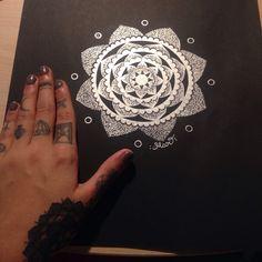 Mandala by Mar a Tattoo Mandala, Tattoos, Tatuajes, Tattoo, Tattoo Illustration, Mandalas, Irezumi, A Tattoo, Flesh Tattoo
