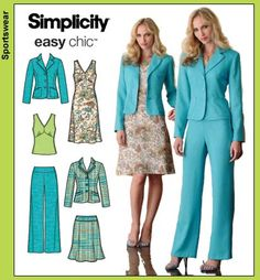 Simplicity 4273 from Simplicity patterns is a sewing pattern