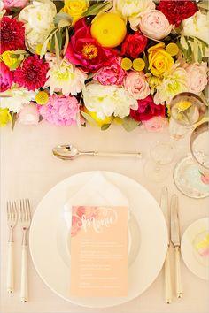 pretty wedding menu with blush pink Wedding Menu, Wedding Stationary, Wedding Paper, Wedding Table, Wedding Events, Our Wedding, Wedding Planning, Dream Wedding, Wedding Invitations