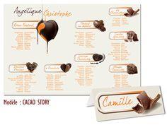 Plan de Table Mariage CACAO STORY Thème GOURMANDISE FESTIF http://www.kellygraphic.net/plan-de-tables-mariage/gourmandise-festif  #wedding #plandetable #plantables #mariage #gourmandise #festif #bonbon #chocolat #fruits #sucre #love #amour #popcake #cupcake #candy #macaron