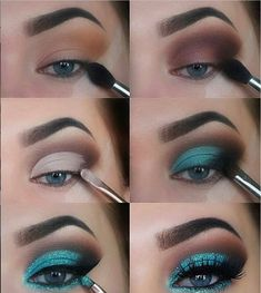 16 Natural Eye Makeup Tutorial For Beginners To Make You Amazing ! - Eyeshadow Looks - 16 Natural Eye Makeup Tutorial For Beginners To Make You Amazing ! 16 Natural Eye Makeup Tutorial For Beginners To Make You Amazing ! Prom Eye Makeup, Eye Makeup Steps, Simple Eye Makeup, Natural Eye Makeup, Blue Eye Makeup, Makeup Eyeshadow, Drugstore Makeup, Easy Makeup, Makeup Ideas