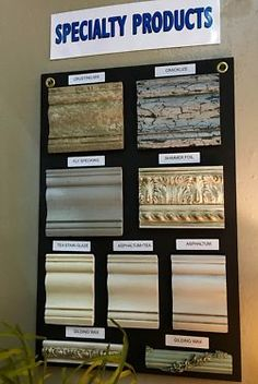 Farmhouse Paint Specialty Products   Get the look you want:   Cracklize   Crusting Mix  Fly Specking  Shimmer Foil   Glaze   Gilding Wax  All Available in the Grace Designs Booth at Wh