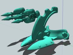 Ended Chapterhouse Studios Kickstarter - 28mm Defensive Terrain and weapons