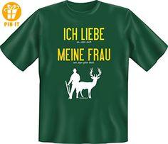 T-Shirt: Liebe meine Frau Jagen XXXL - T-Shirts mit Spruch   Lustige und coole T-Shirts   Funny T-Shirts (*Partner-Link)