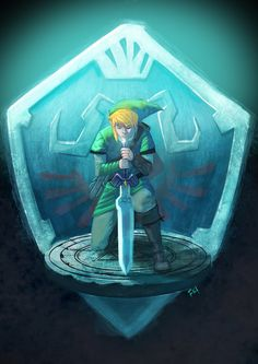 Link's silent realm by Fabian Cobos