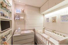 quarto pequeno dividido em quarto bebe e escritorio - Pesquisa Google