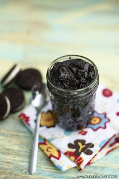 Oreo cookie spread.  Spreadable Oreo?  What could be better?