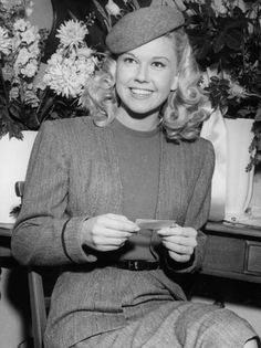 My favorite songstress, Doris Day