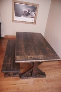 RUSTIC HARVEST TABLES Barrie Ontario Image 1 Harvest Tables Dining Table Dinning