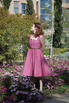 Burda dress 10/2010 116, by pauline alice
