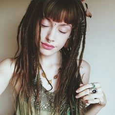 #dreads #dreadlocks. Thin dreads are best