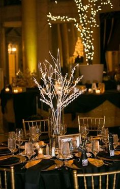 24+ New Ideas for wedding centerpieces gold new years