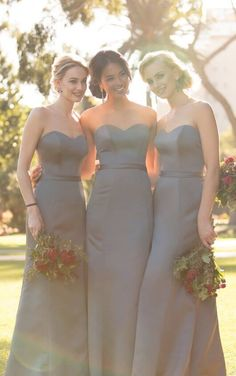 ed0ae88018b Classic Strapless Bridesmaid Dress - Sorella Vita Bridesmaid Dresses