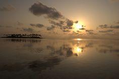 Maldivas #sunrise #paradise