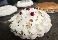 A cherry amaretto pie at Angie's Restaurant in Logan, Utah. (Photo by Jennifer Meyers)