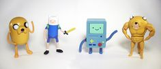 "Adventure Time 5"" Waves 1 and 2 Figures Loose 