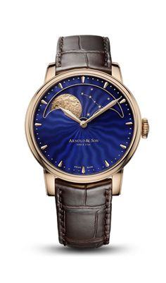 Arnold & Son HM Perpetual Moon Ref. 1GLAR.U01A.C123A in 18-carat red gold