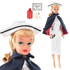 I had this! I wanted to make her a Doctor- I was about 4 and did not how the world was working at that time.