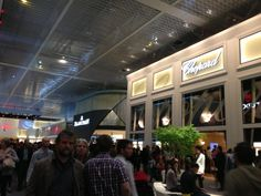 Chopard booth at Baselworld 2013