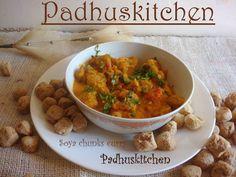 Easy Soya Chunks curry