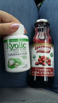 Cure for UTI - Garlic and Unsweetened Cranberry Juice | Take 2 garlic capsules with food 3x daily, and drink unsweetened cranberry juice as you can stomach it | Also drink lots of water