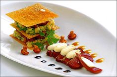 Food presentation french and french cuisine on pinterest - Decoration d assiette gastronomique ...