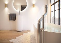 These are the 10 bathroom trends for 2020 Wall Mounted Basins, Wall Mount Faucet, Wall Mounted Mirror, Minimalist Design, Modern Design, Concrete Basin, Mediterranean Tile, Stainless Steel Faucets, Open Bathroom