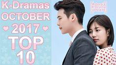❤ My TOP 10 Korean Dramas October 2017 ❤ Top Korean Dramas, Kdrama, October, Tops
