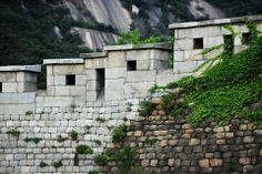 Seoul City Wall at Buam-Dong, Seoul, Korea