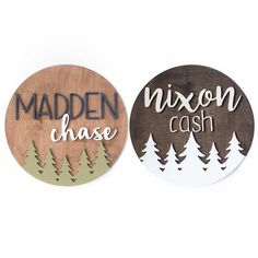 Personalized Wood Signs for Nursery, Home & Business by ModWoodCo wood sign for kids rooms decor room decor // Rustic Boy Names, Unique Baby Boy Names, Cute Baby Names, Baby Girl Names, Kid Names, Names For Boys List, Personalized Wood Signs, Kindergarten, Everything Baby