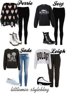"""*REQUESTED* LM Inspired for a Late Night Flight"" by little-mix-fashion ❤ liked on Polyvore"
