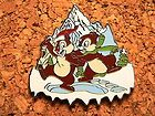 Chip & Dale Disney Pin - Attractions - Mystery Pin Collection Expedition Everest #EasyNip