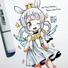 """39.2k Likes, 227 Comments - Ibu  (@ibu_chuan) on Instagram: """"Hi❣❣❣ Hoy tenía ganas de dibujar sketchys oc de artistas que me gustan, no alcancé a hacer todos…"""""""