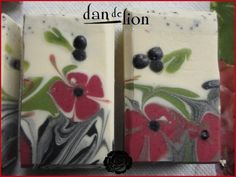 Beautiful floral soap pattern
