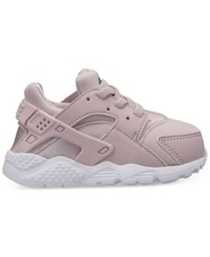 Nike Toddler Girls' Huarache Run Running Sneakers from Finish Line - Red 10
