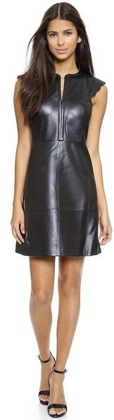 Tory Burch Maretta Leather Dress