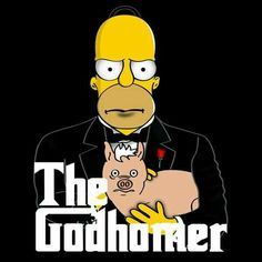 The Godhomer by MacWhirr - Get Free Worldwide Shipping! This neat design is available on comfy T-shirt (including oversized shirts up to ladies fit and kids shirts), sweatshirts, hoodies, phone cases, and more. Free worldwide shipping available. Simpsons Drawings, Simpsons Art, Homer Simpson, Cartoon Crossovers, Cartoon Characters, Cartoon Shows, Cartoon Art, Simpsons Episodes, Animation