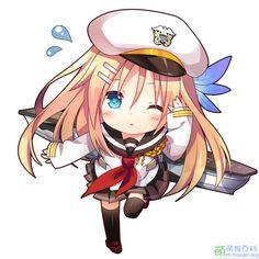 #Warship Girls# carrier USS Saratoga (CV-3) in cute version