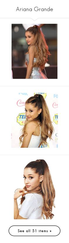 """""""Ariana Grande"""" by directioner-123-ii ❤ liked on Polyvore featuring hair, ariana grande, ariana, people, beauty, backgrounds, celebrities, pictures, photos and purple"""
