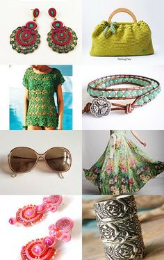 Summer fashion by Lina Vragova on Etsy