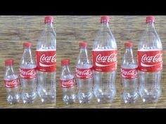 Como hacer tinajas de barro con botellas - IMITATION JARS, VESSEL OF MUD, MINIATURES... - YouTube