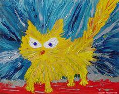 """Pinguino """"Angry Cat"""""""