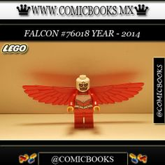Falcon from LEGO set #76018 You can buy this LEGO toy at: www.comicbooks.mx Also follow us on Instagram: comicbooks, sundaycomics and sportscards