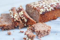 Speculaas bananencake: suikervrij, glutenvrij, lactosevrij én vetvrij - Zoetrecepten Healthy Pastry Recipe, Healthy Cake, Pastry Recipes, Healthy Treats, Healthy Food, Healthy Recipes, Vegan Baking, Healthy Baking, Sugar Free Recipes